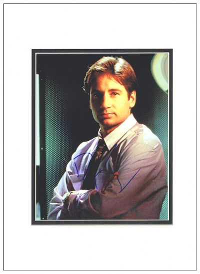 David Duchovny Autograph Signed Photo X-Files For Sale